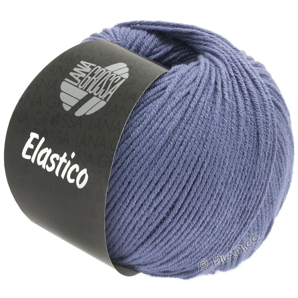Lana Grossa ELASTICO Uni/Print | 135-blommer blå