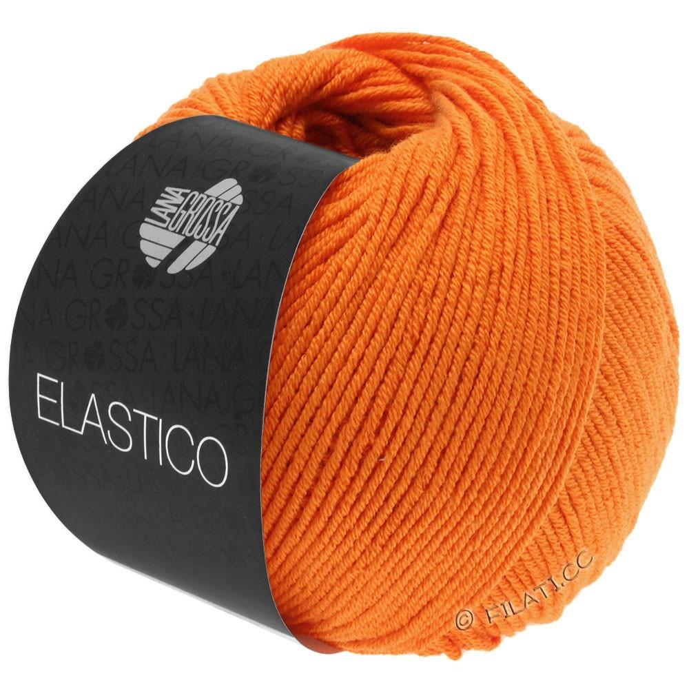 Lana Grossa ELASTICO  Uni/Print | 145-orange