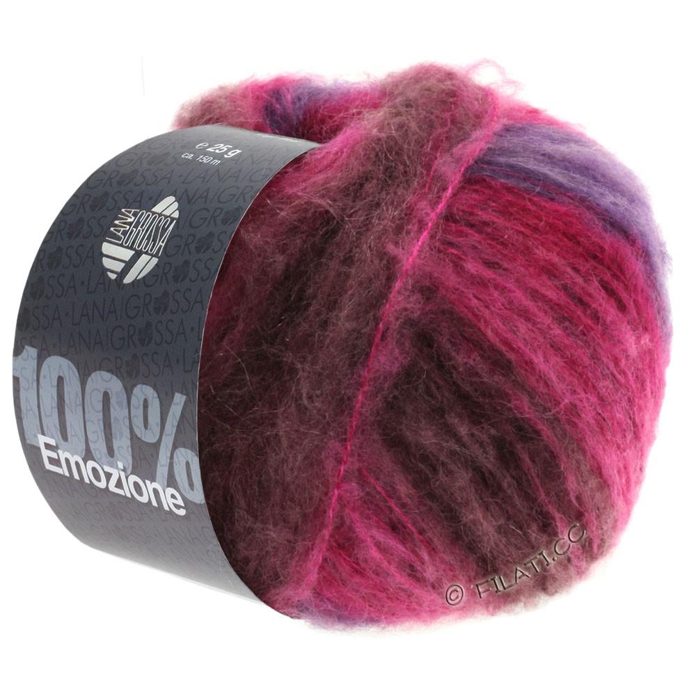 Lana Grossa EMOZIONE Degradé | 104-burgund/violet/cyklamen