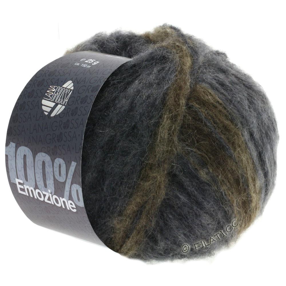 Lana Grossa EMOZIONE Degradé | 106-mørkegrå/antracit/gråbrun
