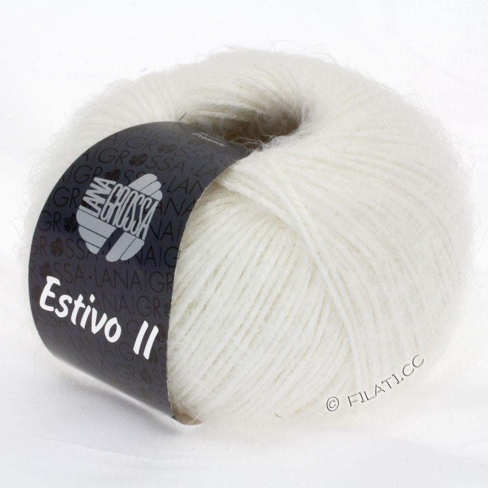 Lana Grossa ESTIVO II | 12-rå hvid