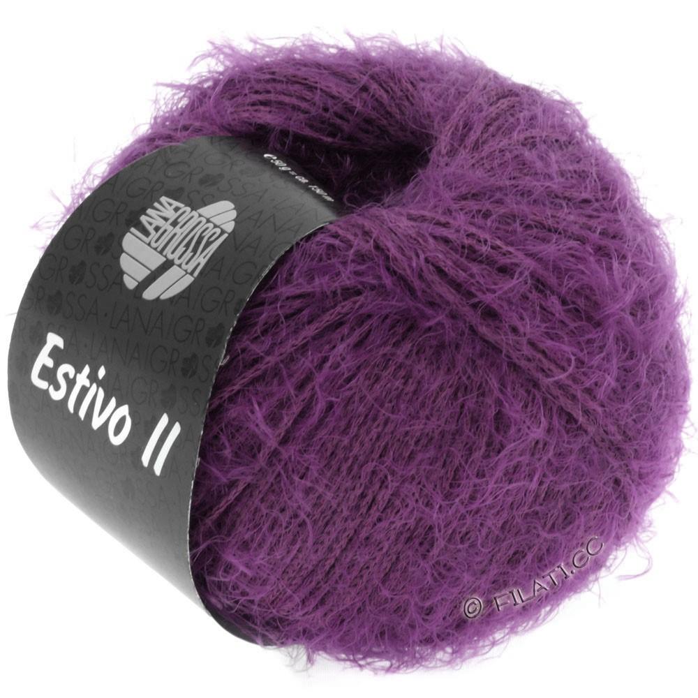 Lana Grossa ESTIVO II | 18-mørk violet