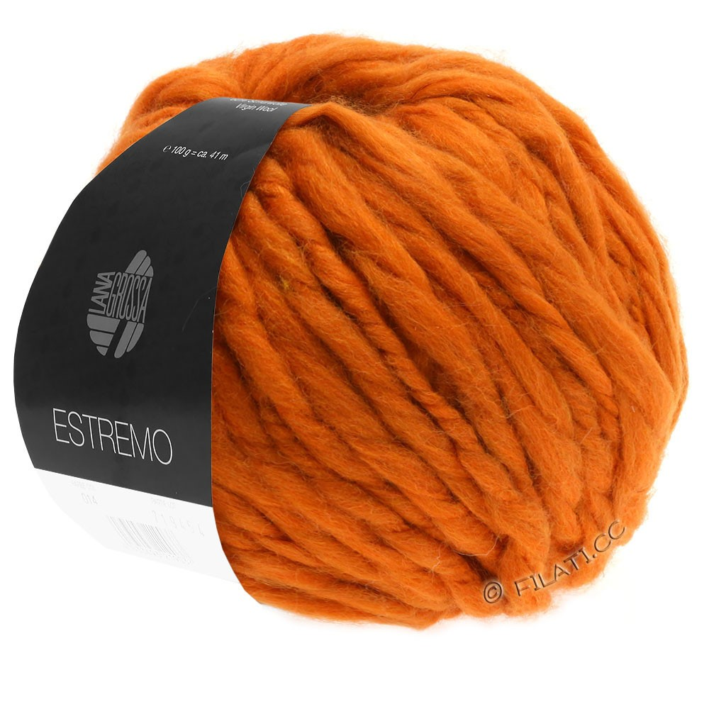 Lana Grossa ESTREMO | 05-terrakotta orange
