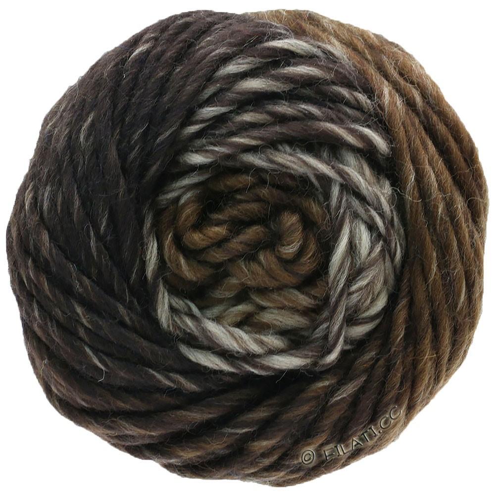 Lana Grossa FELTRO Degradé | 1311-lysebrun/gennemsnit brun/mørkebrun