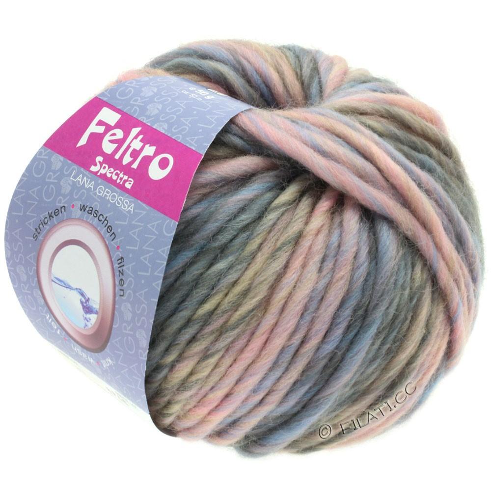 Lana Grossa FELTRO Spectra | 817-rosa/lyseblå/grå/taupe