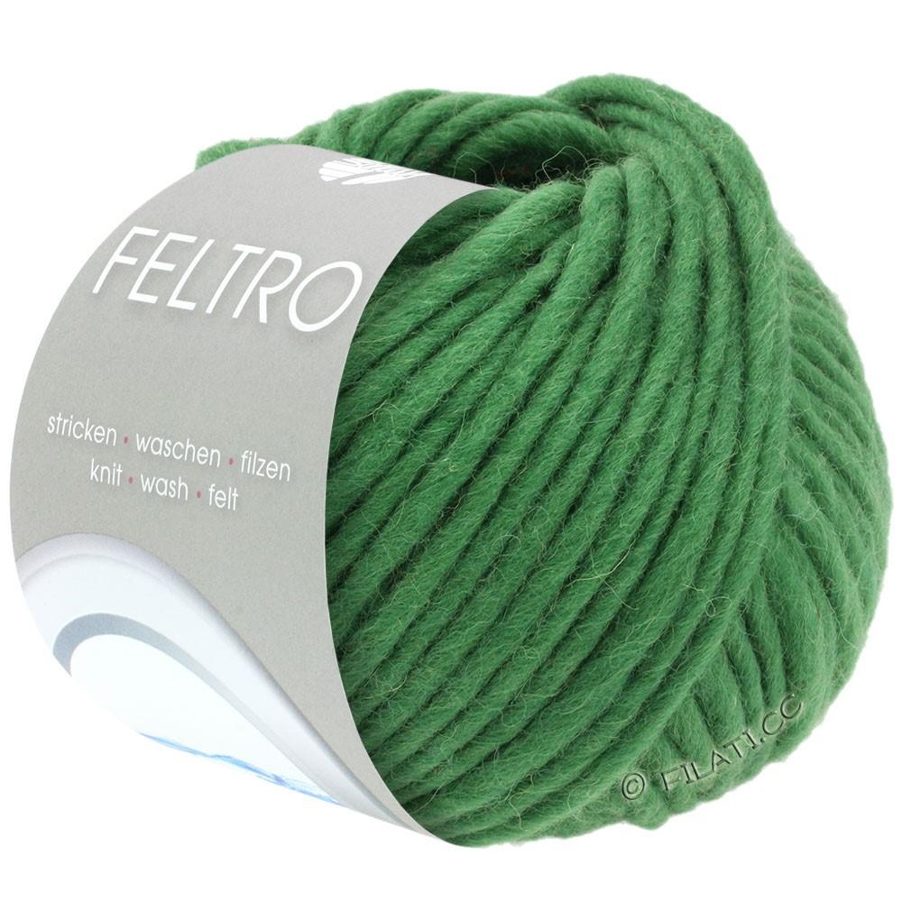 Lana Grossa FELTRO  Uni | 011-græsgrøn