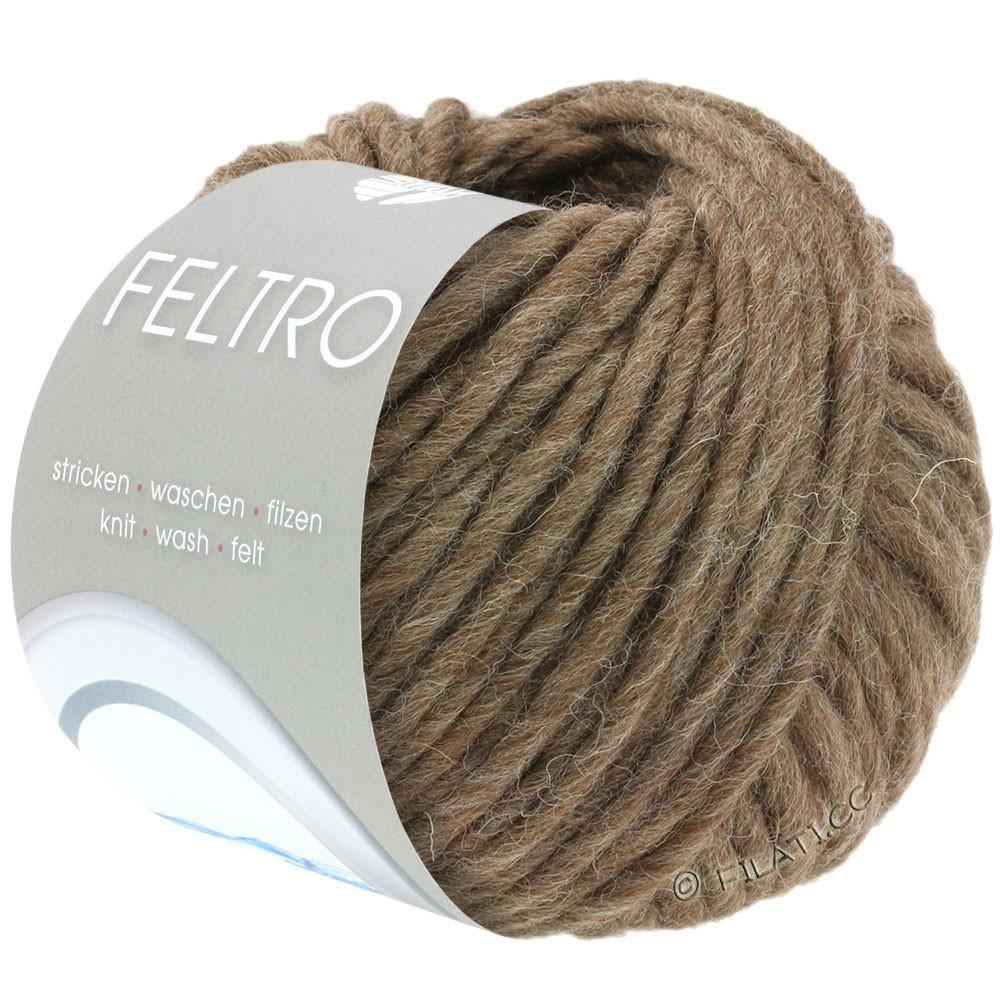 Lana Grossa FELTRO  Uni | 023-brun meleret