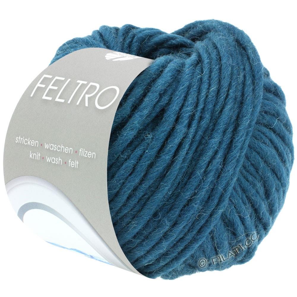 Lana Grossa FELTRO  Uni | 040-petrol blå