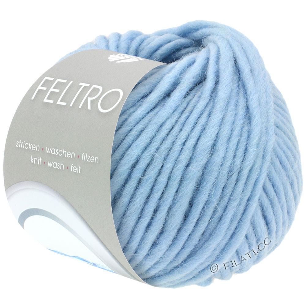 Lana Grossa FELTRO  Uni | 065-himmelblå