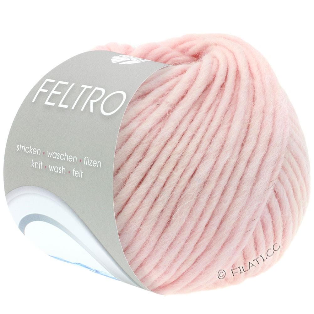 Lana Grossa FELTRO  Uni | 070-pudder rosa