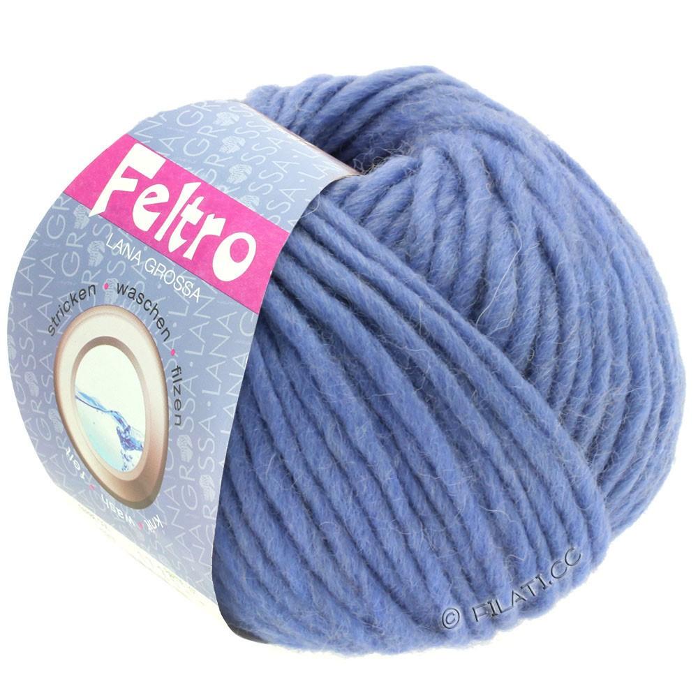Lana Grossa FELTRO  Uni | 081-violetblå