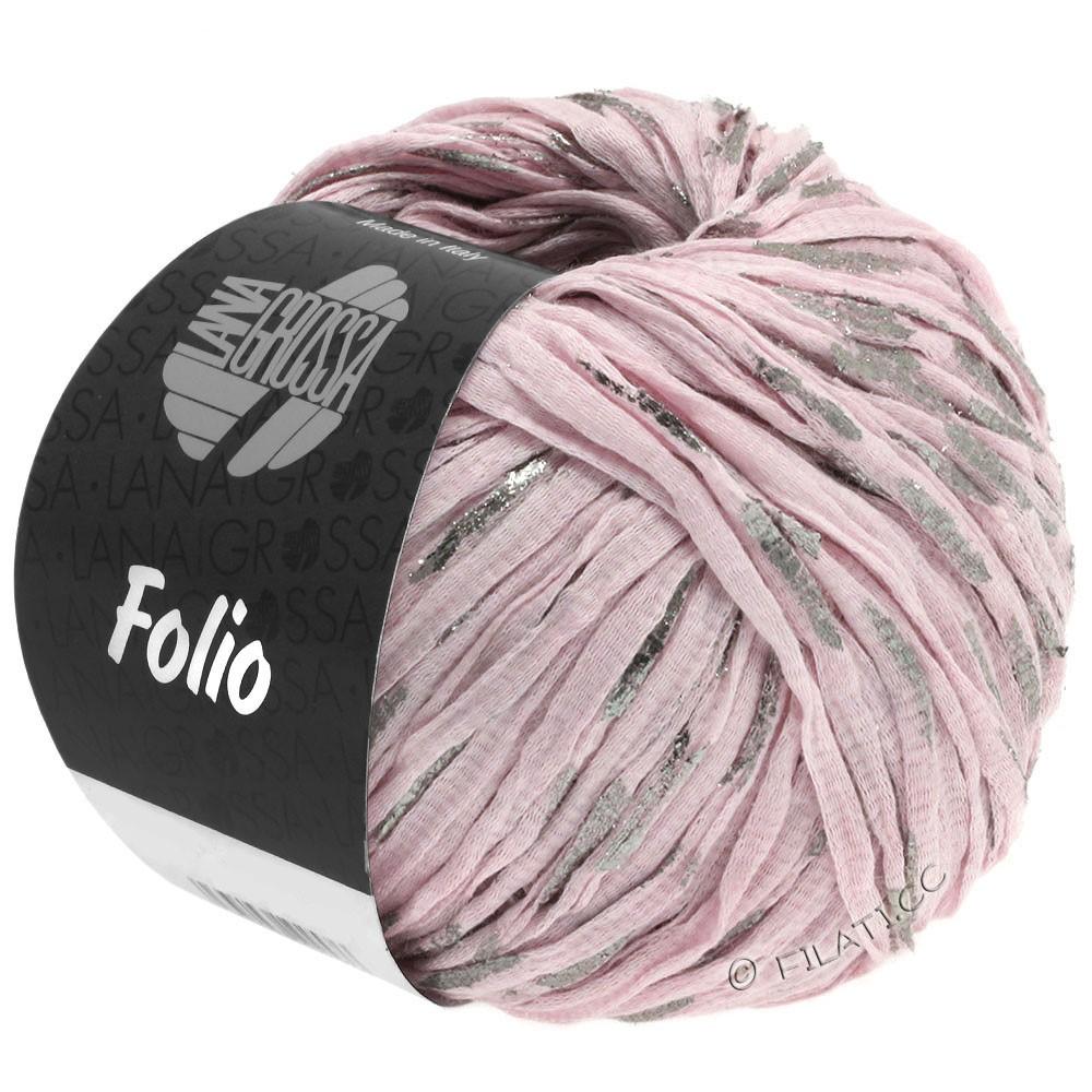 Lana Grossa FOLIO   03-rosé/sølv