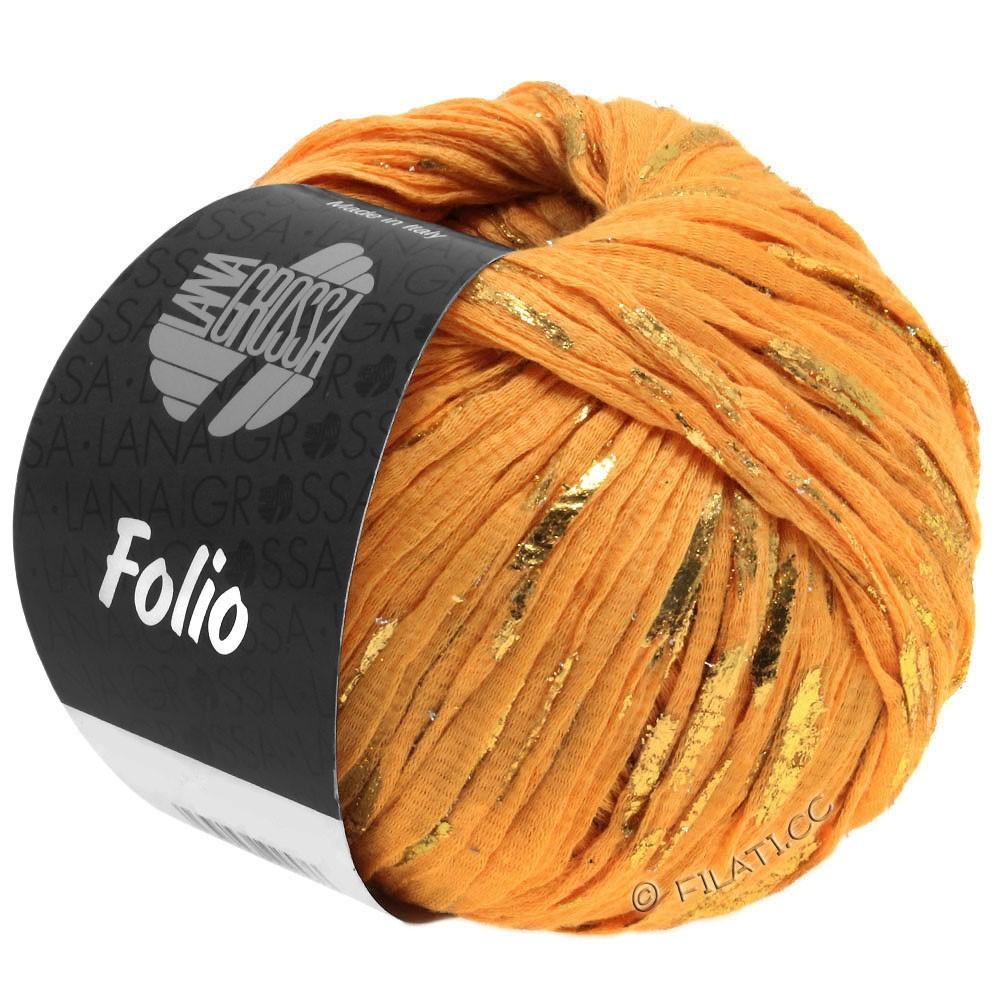 Lana Grossa FOLIO | 09-orange/gylden