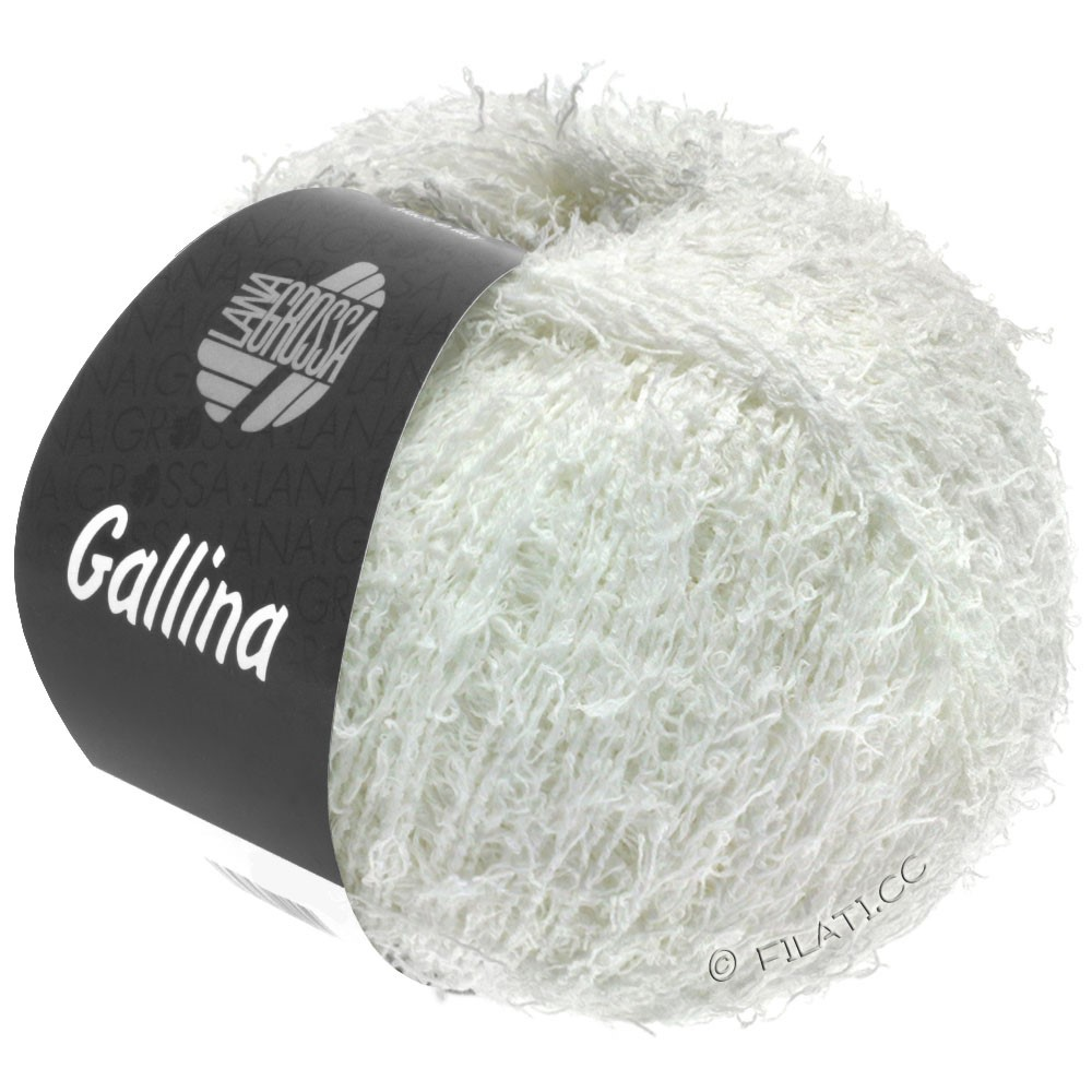Lana Grossa GALLINA | 01-hvid