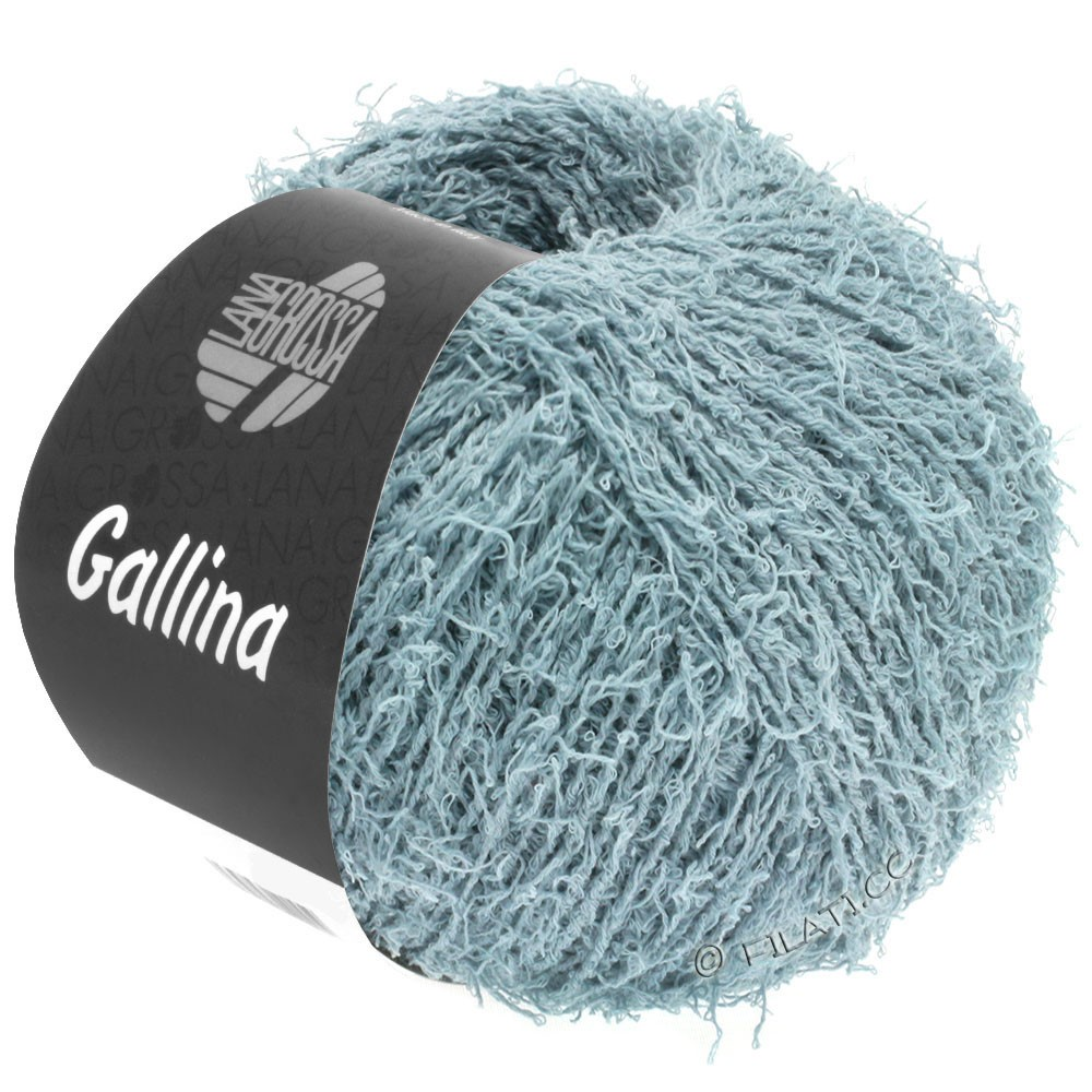 Lana Grossa GALLINA   12-gråblå