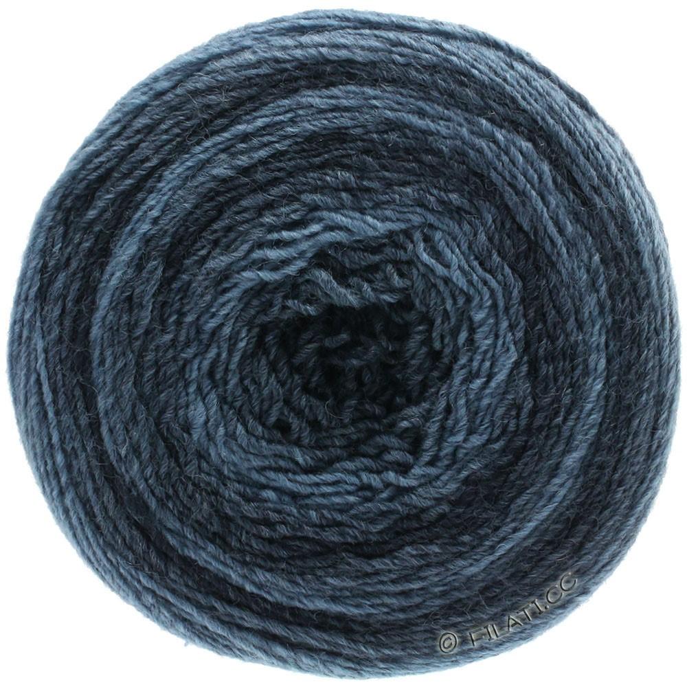 Lana Grossa GOMITOLO 200 Degradé | 301-jeans/mørkeblå