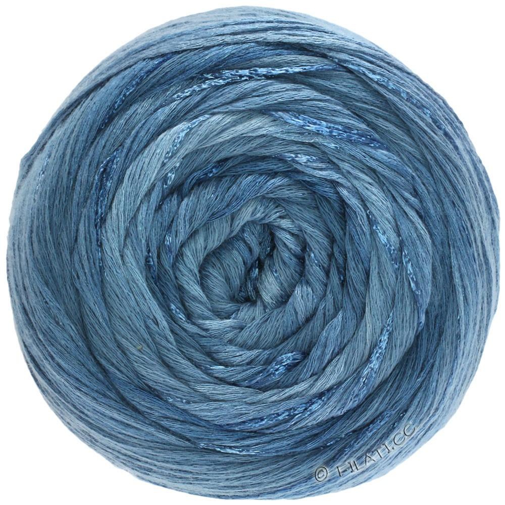 Lana Grossa GOMITOLO ESTATE | 306-jeans/røgblå/marine/blågrå