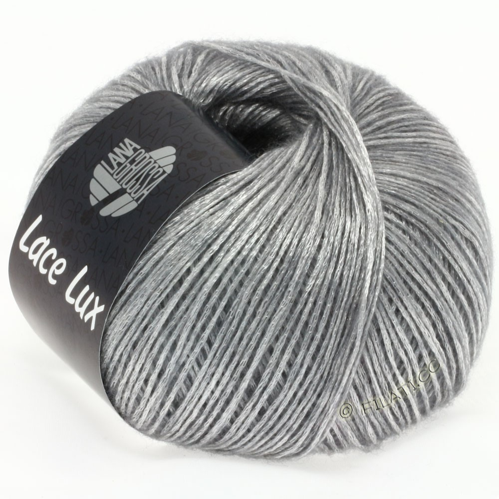 Lana Grossa LACE Lux | 11-lysegrå meleret