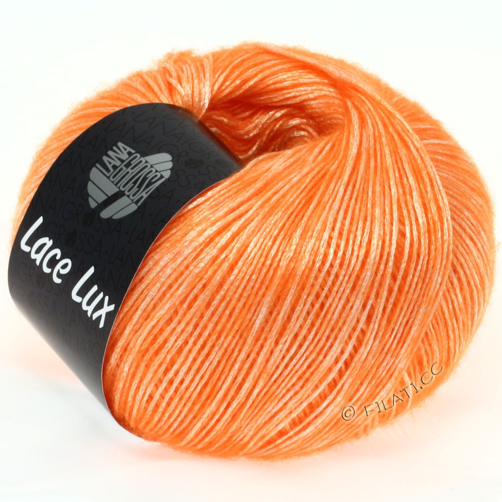 Lana Grossa LACE Lux | 30-neon orange meleret