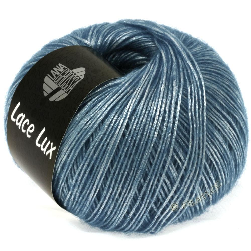 Lana Grossa LACE Lux | 37-lyseblå meleret