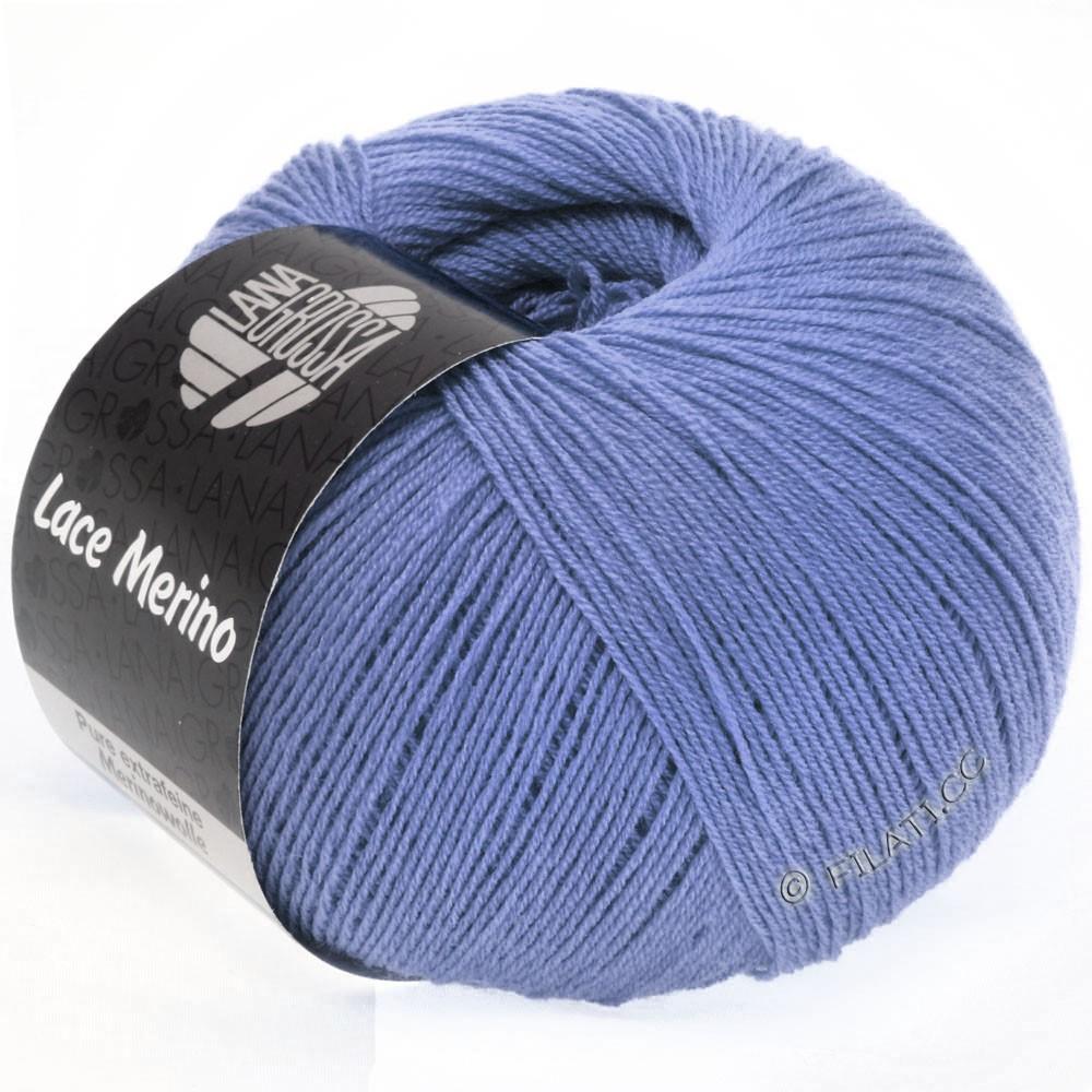 Lana Grossa LACE Merino  Uni | 44-violetblå