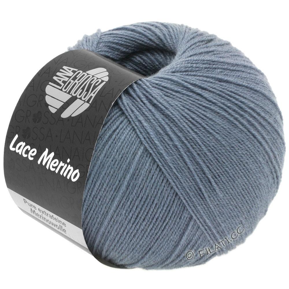 Lana Grossa LACE Merino  Uni | 53-dueblå