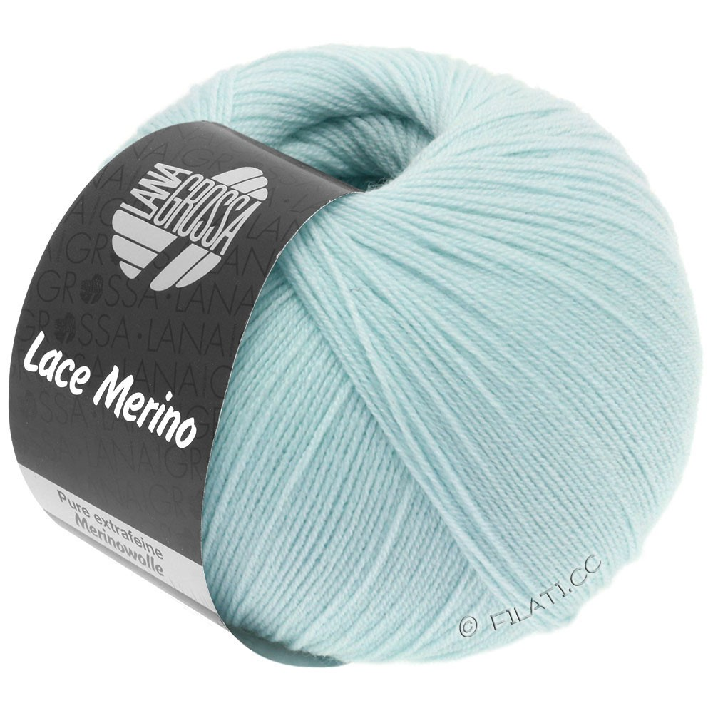 Lana Grossa LACE Merino  Uni | 58-sartblå