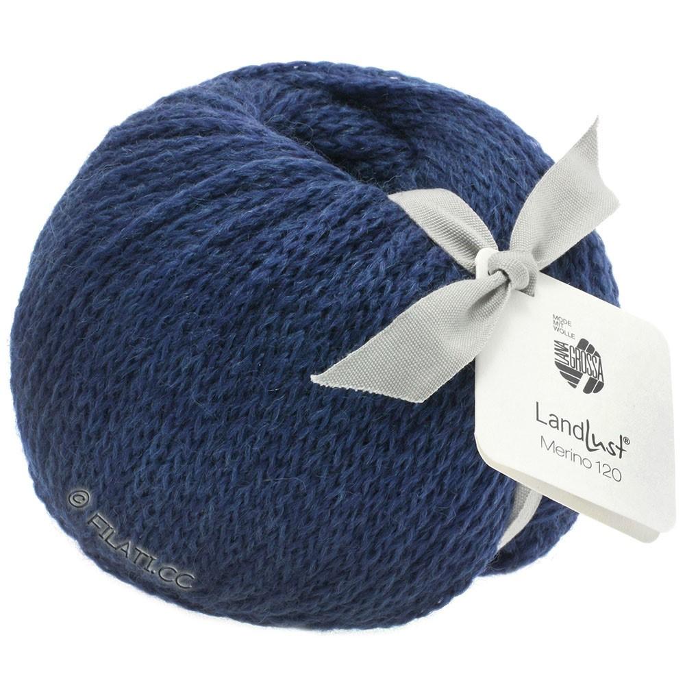 Lana Grossa LANDLUST MERINO 120   108-mørkeblå