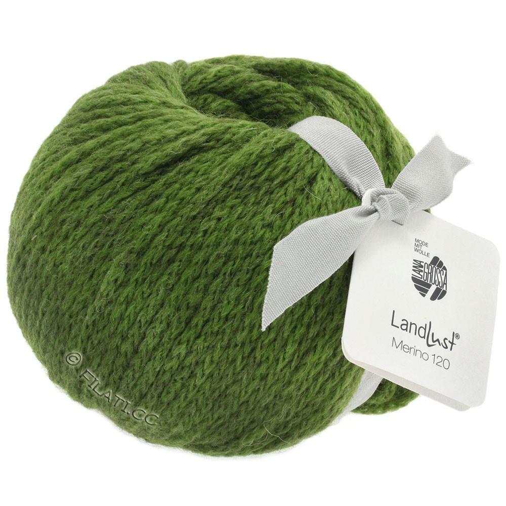 Lana Grossa LANDLUST MERINO 120   117-grøn