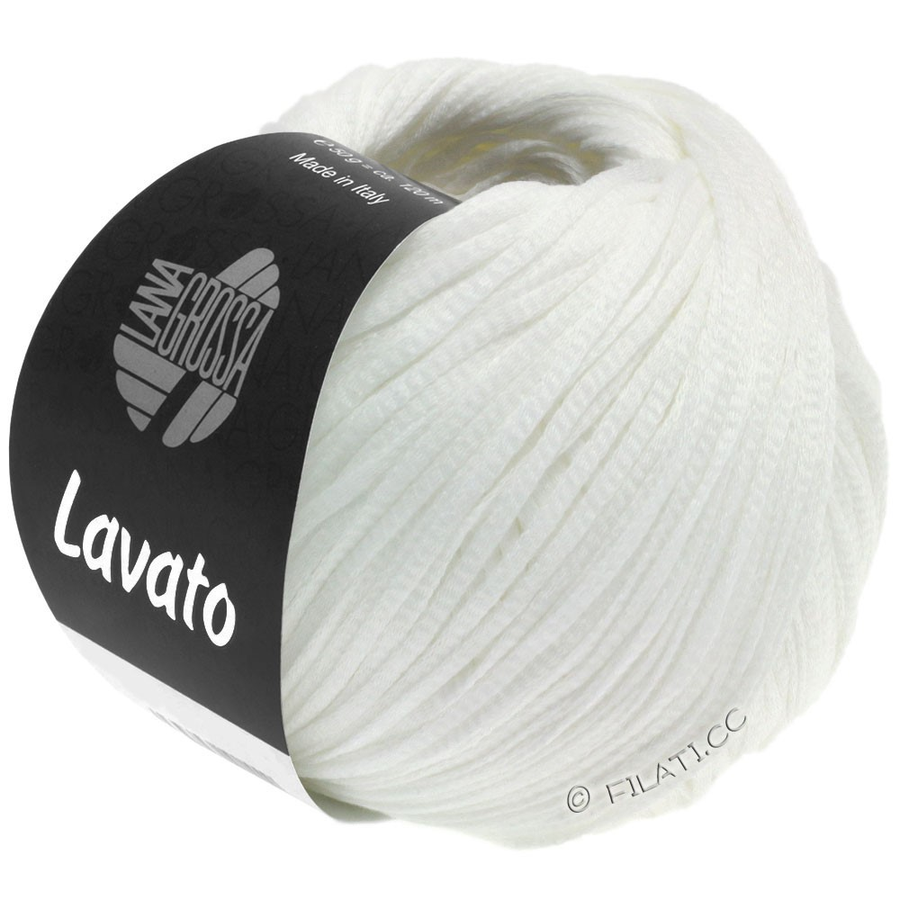 Lana Grossa LAVATO | 08-hvid
