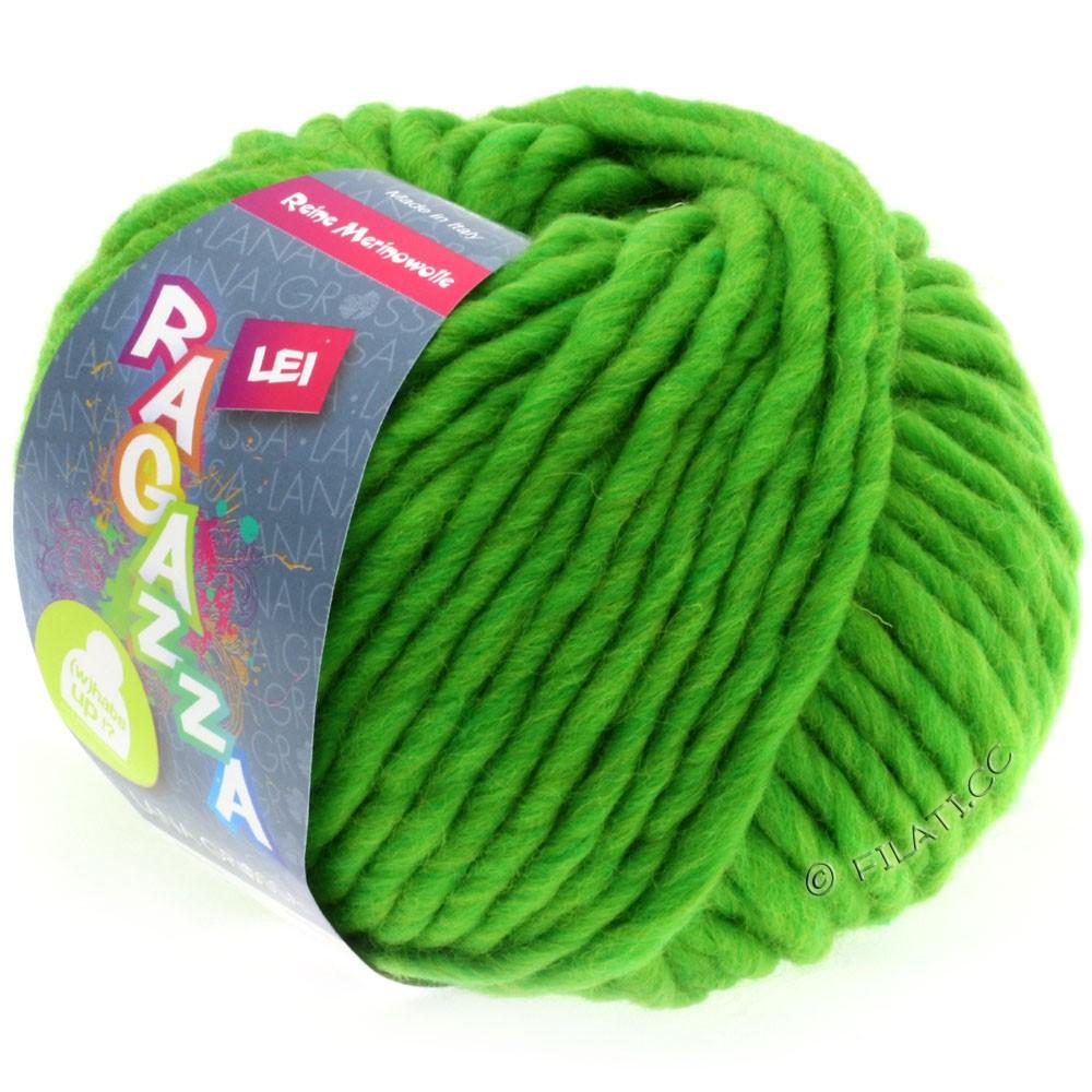 Lana Grossa LEI  Uni/Neon (Ragazza) | 061-bilious grøn meleret