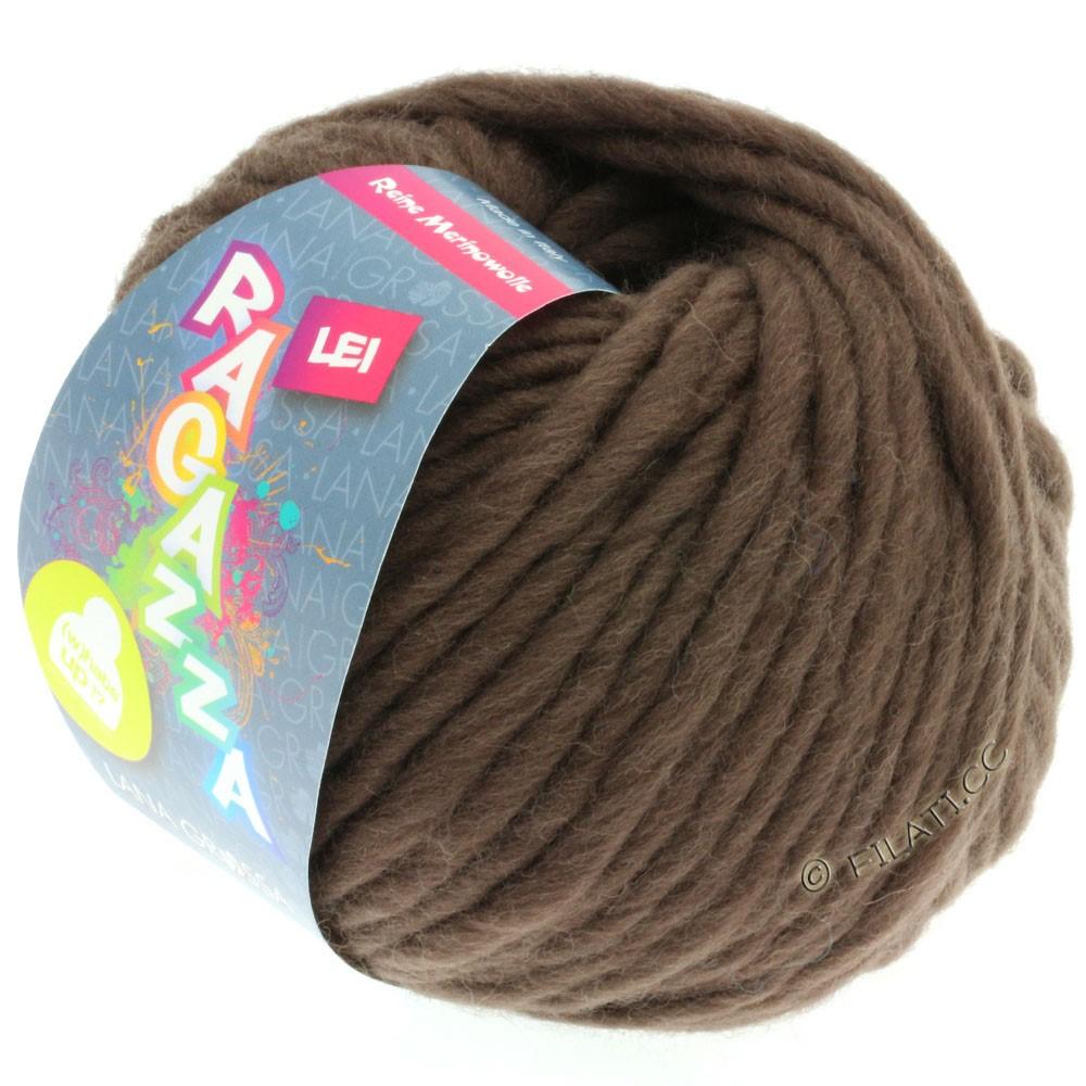 Lana Grossa LEI  Uni/Neon (Ragazza) | 064-gråbrun
