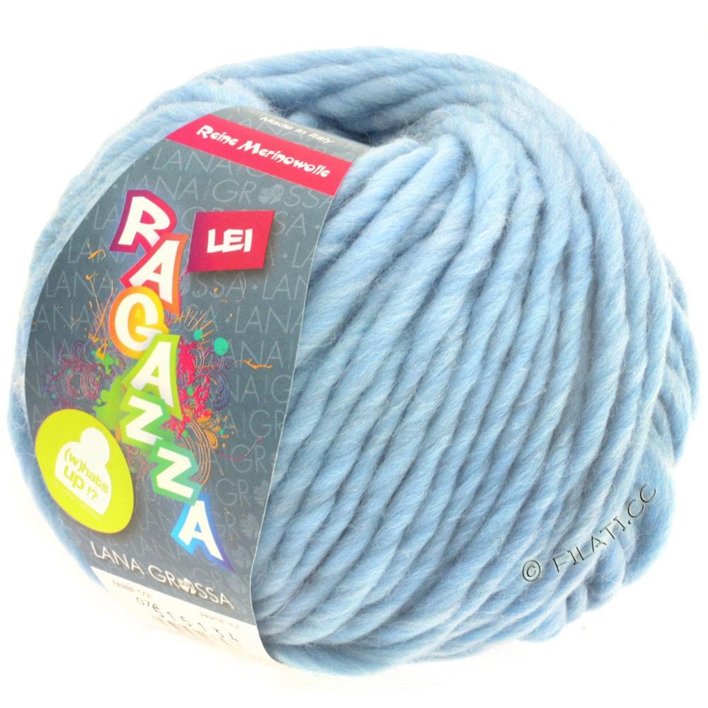 Lana Grossa LEI  Uni/Neon (Ragazza) | 074-lyseblå