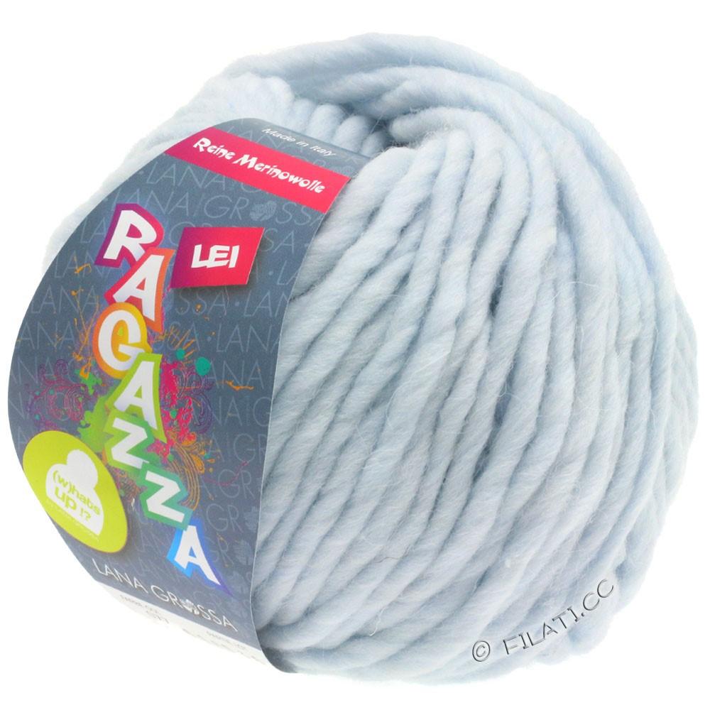 Lana Grossa LEI  Uni/Neon (Ragazza) | 077-blegblå