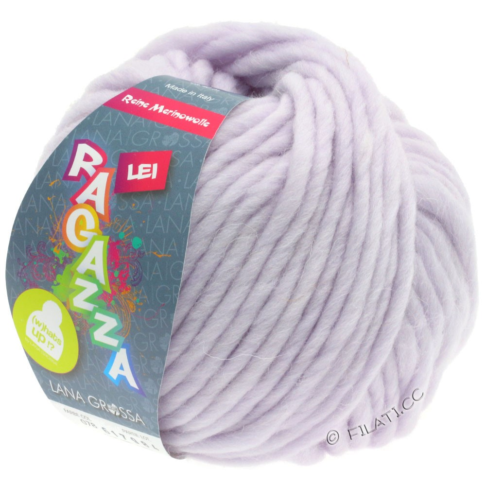 Lana Grossa LEI  Uni/Neon (Ragazza) | 078-blegviolet