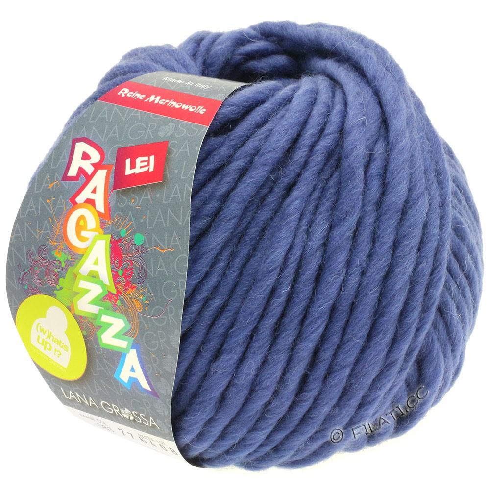 Lana Grossa LEI  Uni/Neon (Ragazza) | 083-violetblå