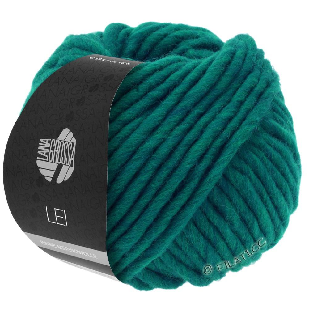 Lana Grossa LEI  Uni/Neon (Ragazza) | 087-blå grøn