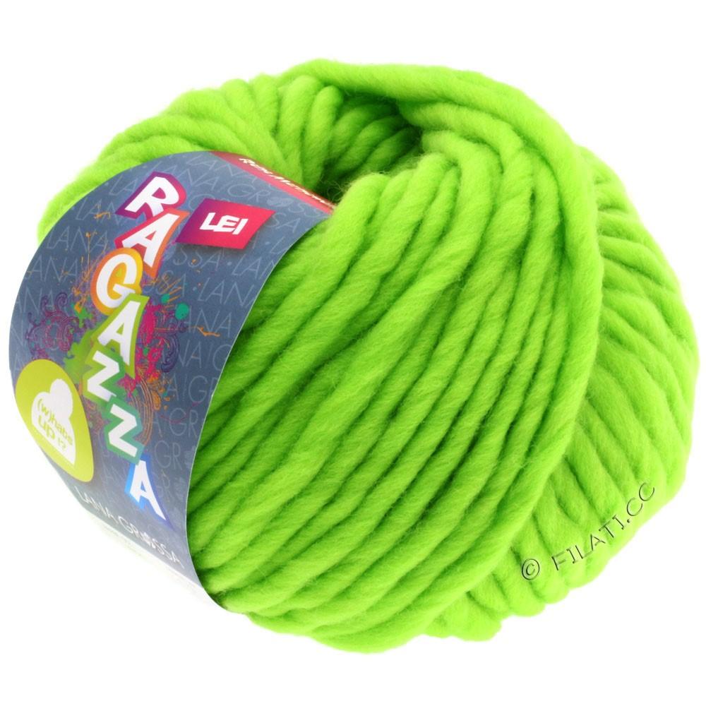 Lana Grossa LEI  Uni/Neon (Ragazza) | 503-neon grøn