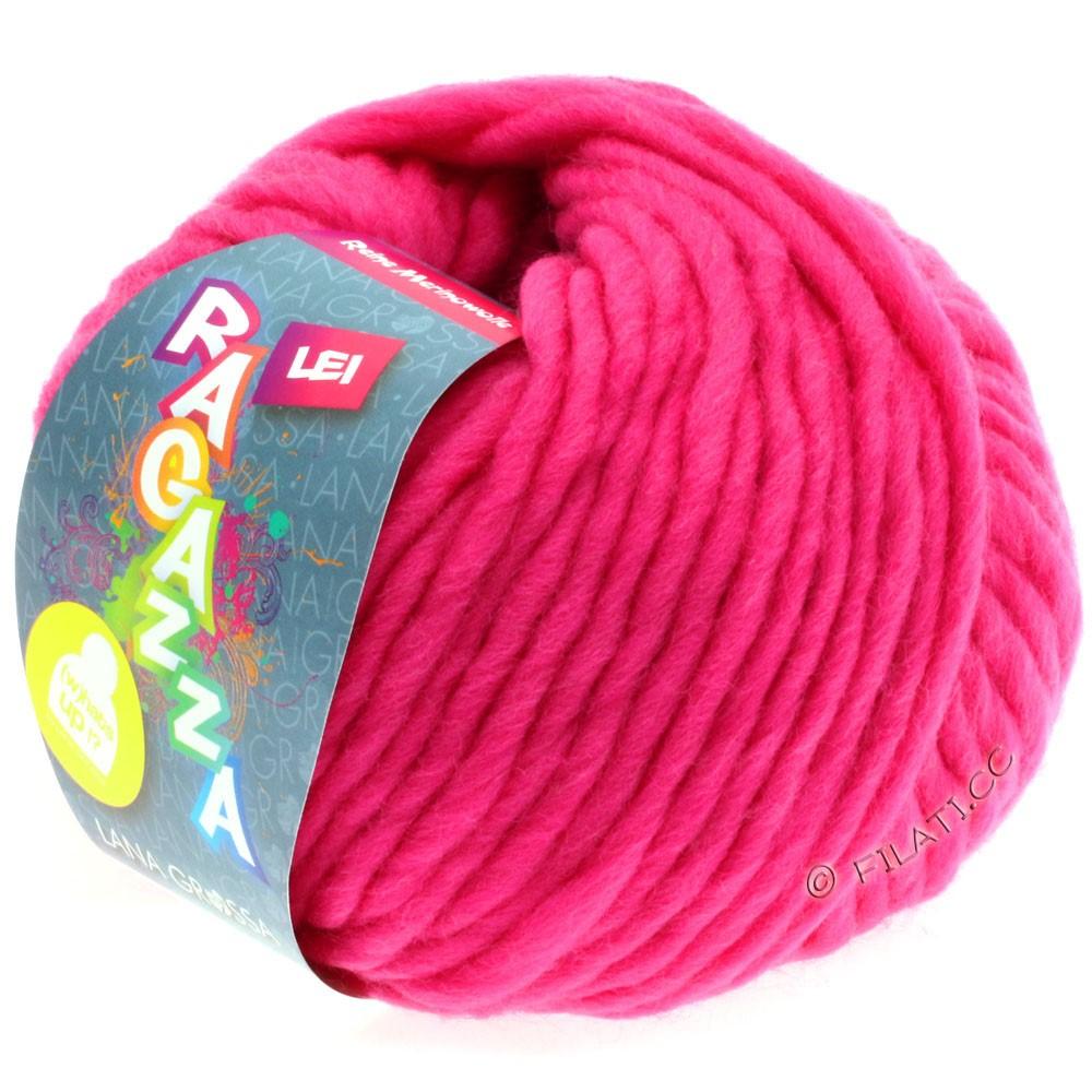 Lana Grossa LEI  Uni/Neon (Ragazza) | 504-neon pink