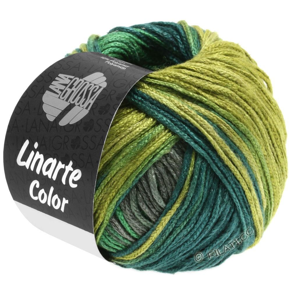 Lana Grossa LINARTE Color | 205-oliven/grøn/petrol/grafit