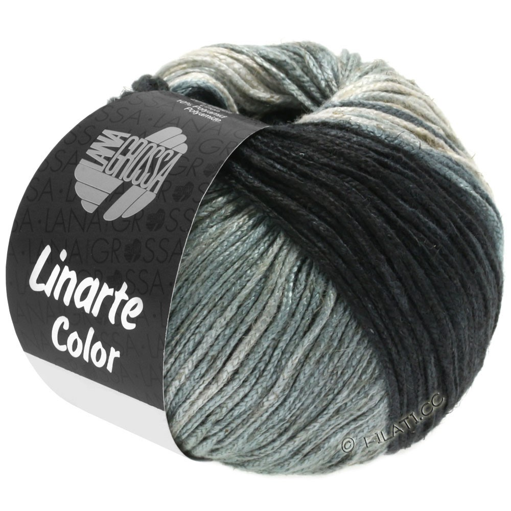 Lana Grossa LINARTE Color | 207-grège/stengrå/skiffergrå/antracit