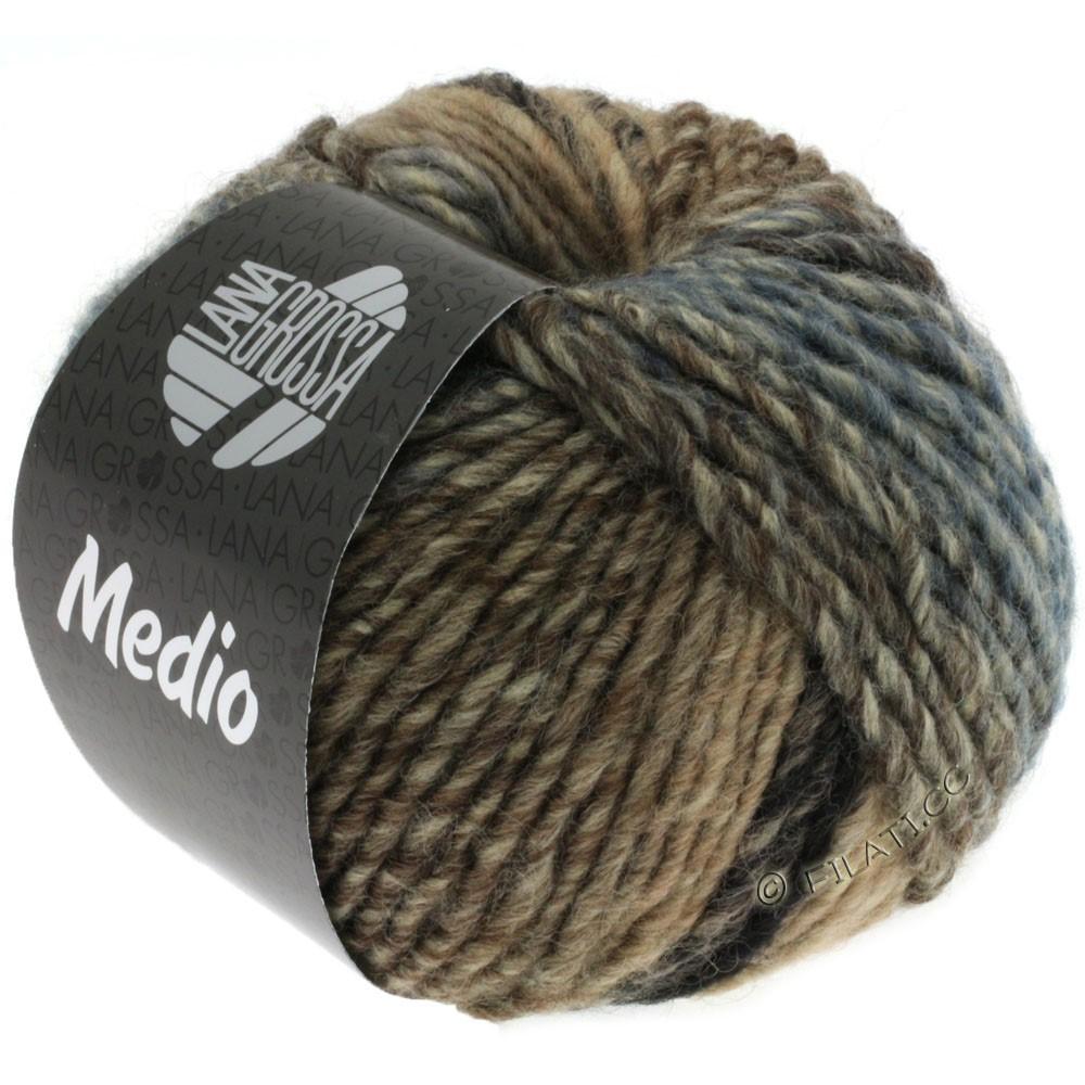 Lana Grossa MEDIO | 30-natblå/mørkegrå/grège/taupe/jeans/natur/rosa/petrol