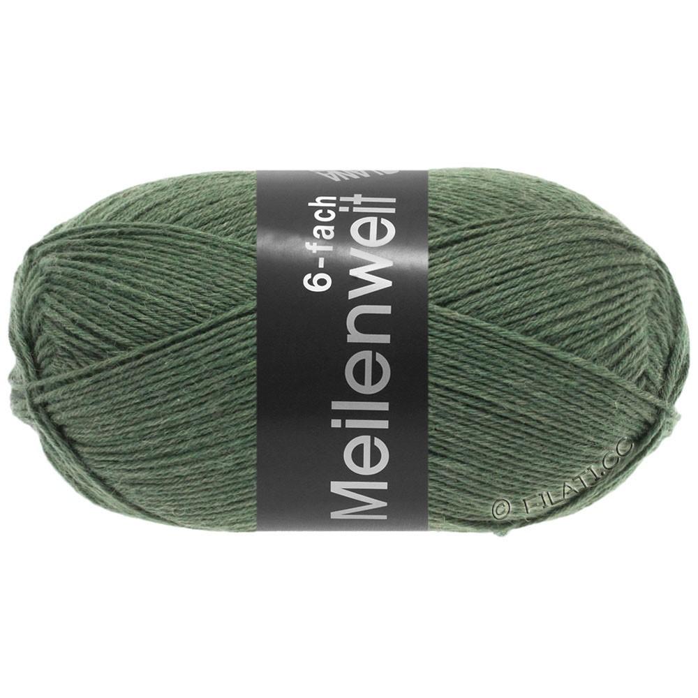 Lana Grossa MEILENWEIT 6-FACH 150g Uni/Tweed | 9221-oliven