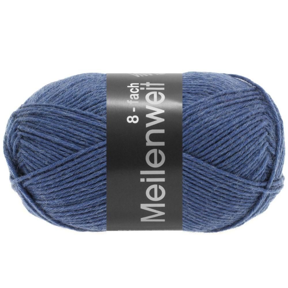 Lana Grossa MEILENWEIT 8-FACH 100g Uni | 9614-jeans
