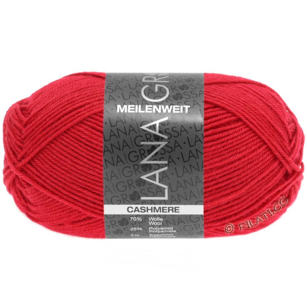 Lana Grossa MEILENWEIT 50g Cashmere | 06-rød