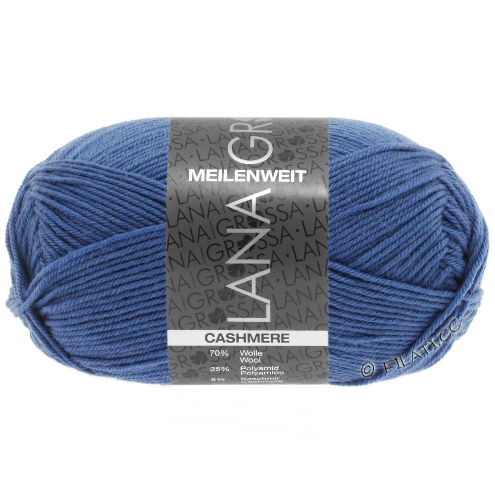 Lana Grossa MEILENWEIT 50g Cashmere | 16-blå