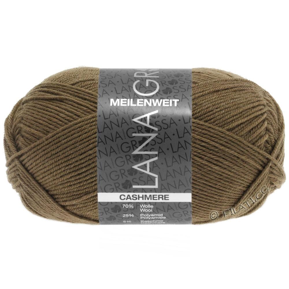 Lana Grossa MEILENWEIT 50g Cashmere | 20-olivenbrun