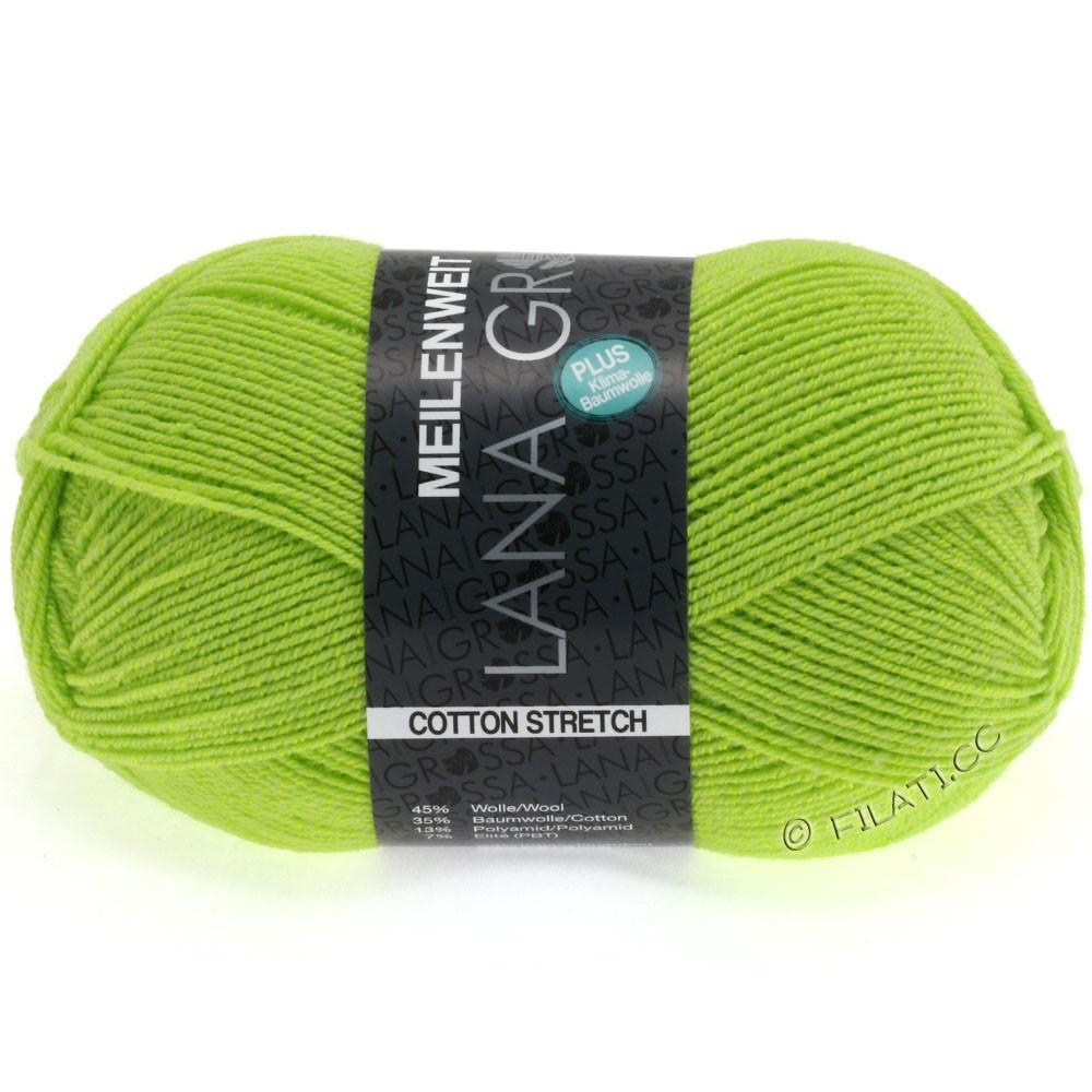 Lana Grossa MEILENWEIT 100g Cotton Stretch | 8033-kiwi grøn
