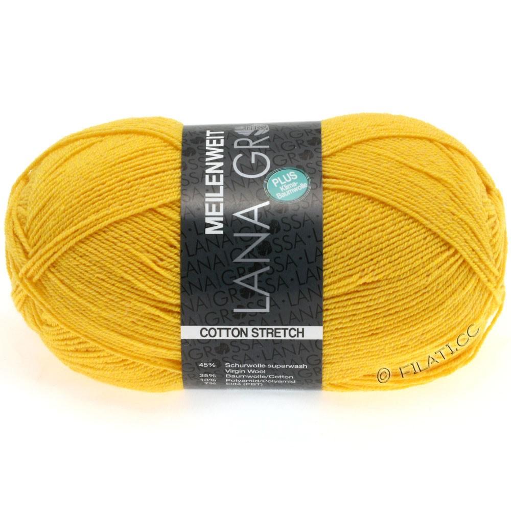 Lana Grossa MEILENWEIT 100g Cotton Stretch | 8034-solgul