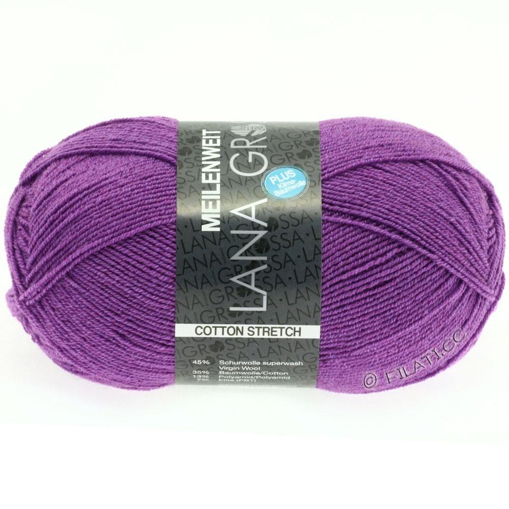 Lana Grossa MEILENWEIT 100g Cotton Stretch | 8037-purpur